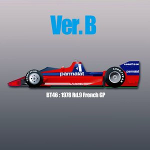 BT46 1978 Rd.9 FrenchGP:Ver.B|barchetta