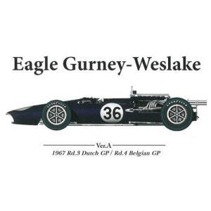 EAGLE Gurney-Weslake Ver.A : 1967 Rd.3 Dutch GP / Rd.4 Belgian GP|barchetta