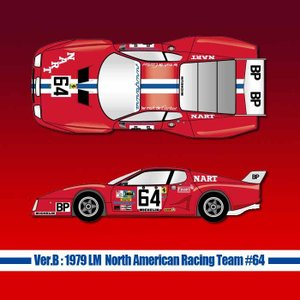 フェラーリ 512BB LM【MFH Ver.B】:1979 LM North American Racing Team #64|barchetta