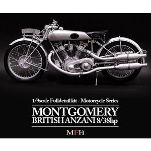 MONTGOMERY BRITISH ANZANI 8/38h.p.  1/9scale Fulldetail kit|barchetta