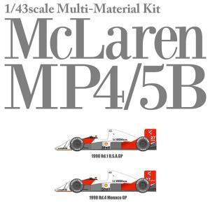McLaren MP4/5B Ver.A スポンサーデカールセット【MFH 1/43 k546】|barchetta