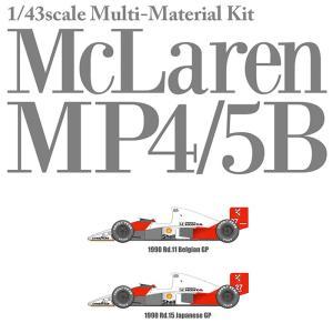 McLaren MP4/5B Ver.B スポンサーデカールセット【MFH 1/43 k547】 barchetta