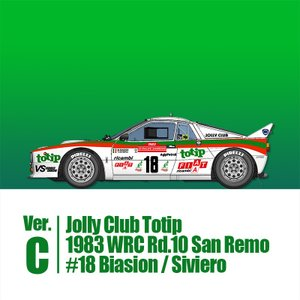ラリー037 Jolly Club Totip 1983【MFH 1/43 K559】|barchetta