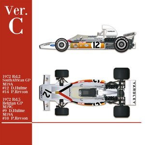 McLaren M19A 1972 Ver.C【MFH 1/43 K586】|barchetta