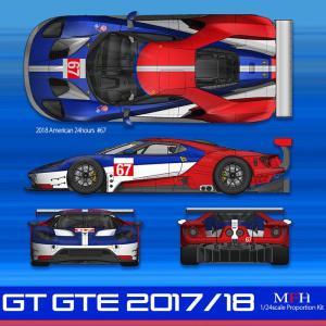 GT GTE 2017/2018【MFH 1/24 K633】|barchetta