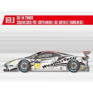 フェラーリ488 GTE 2017 LM 24hours Scuderia Corsa#62【MFH 1/24 K646 Ver.D】|barchetta