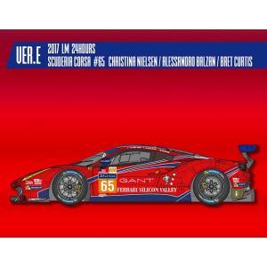 フェラーリ488 GTE 2017 LM 24hours Scuderia Corsa#65【MFH 1/24 K647 Ver.E】|barchetta