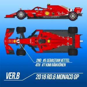 フェラーリ SF71H Ver.B【モデルファクトリーヒロ MFH K671】 barchetta
