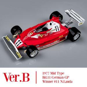 1/12 フェラーリ 312T2 '77 Ver.B【モデルファクトリーヒロ K686】|barchetta