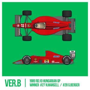 フェラーリ F1-89(640) Ver.B : Late Type※スポンサーデカール付き【モデルファクトリーヒロ 1/12 K695】|barchetta