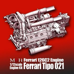 Ferrari 126C2 Engine【MFH 1/12 フェラーリ 126C2 Tipo021 エンジンキット】|barchetta