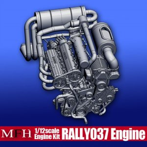 Rally 037 Engine【ランチア ラリー037 エンジンキット】|barchetta