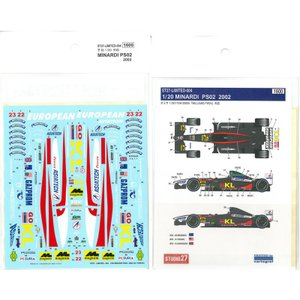1/20 MINARDI PS02 2002(T社1/20対応)|barchetta