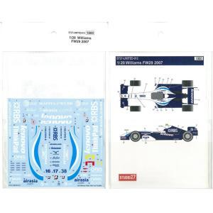 1/20 Williams FW29 2007|barchetta
