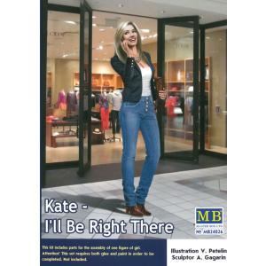 1/24 オフィスレディーパンツスタイル ケイト・デンジャラスカーブスシリーズ【マスターボックス MASTER BOX MB24026】|barchetta