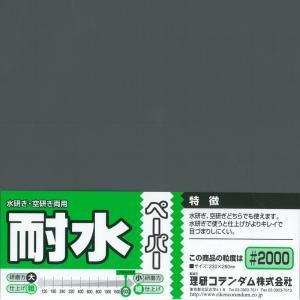 耐水ペーパー(1枚入) #2000|barchetta