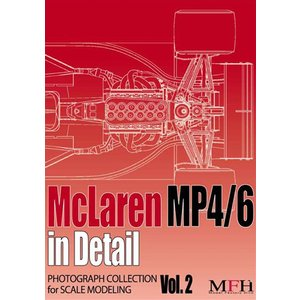 "PHOTOGRAPH COLLECTION Vol.2 ""McLaren MP4/6 in Detail""【MFH BOOK】|barchetta"