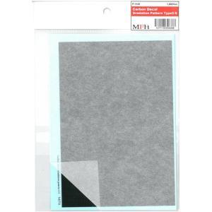 Carbon Gradation Pattern TYPE 2-S 118mmx172mm 1枚入|barchetta