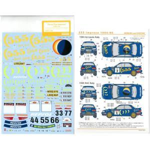 """Three Five Impreza 1994(H社1/24スバルインプレッサWRX.1994アクアポリスラリーウィナ―""""ほか対応) barchetta"""