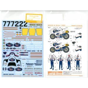 1/12 NS500&Rider 1985(T社1/12ホンダNS500とレーシングライダー対応)|barchetta