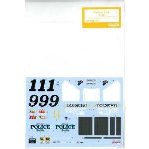 1/12 Police 888 1992(T社1/12ドゥカティ888スーパーバイクレーサー対応)|barchetta