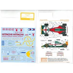 1/20 Type107B  1993(T社1/20ロータス107Bフォード対応)|barchetta