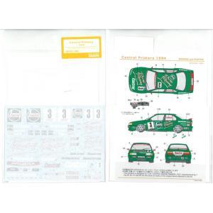 カストロールプリメーラ 1994(T社「カストロール ニッサン プリメーラJTCC」対応)【SHUNKOデカール 1/24 SHK-D361】 barchetta