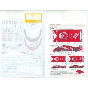 1/24 TS020 1999(T社「トヨタGT-One TS020」対応)【SHUNKOデカール 1/24 SHK-D362】|barchetta