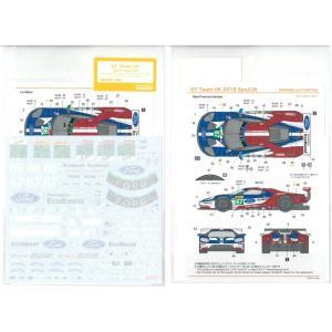 1/24 GT チームUK 2018スパ/LM(R社「フォード GT ル・マン」対応)【SHUNKOデカール SHK-D368】|barchetta