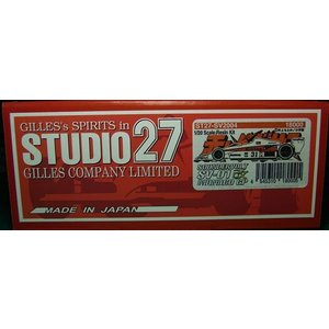 1/20 サンダーボルト SV01改 モナコGP【赤いペガサスシリーズ スタジオ27 ST27-SV2004】|barchetta