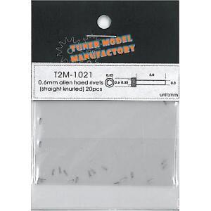 T2M-1021  0.6mm. 20本入り ミクロパーツ|barchetta