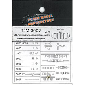 T2M-3009 4本入り ミクロパーツ|barchetta