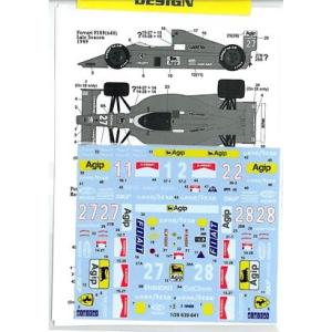1/20  F639-641 (F189)|barchetta