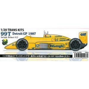 99T Detroit GP 1987 Include Helmet#12 1/20 TRANS KITS (T社1/20 対応)|barchetta