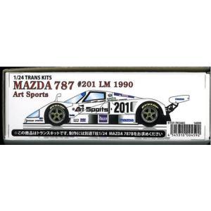 MAZDA 787 #201 LM 1990 Art 1/24TRANS KITS|barchetta