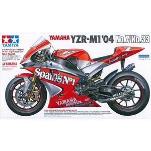 ヤマハ YZR-M1 '04 No.7/No.33【タミヤ 1/12オートバイシリーズ】