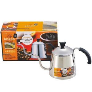 ドリップパック対応の注ぎ口でコーヒーがこぼれにくいです。  ガス火はもちろん、200VのIHクッキン...