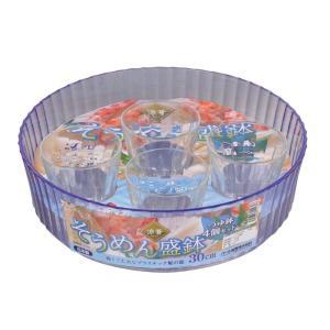 扱いやすくお手入れ簡単、軽くて丈夫なプラスチック製  涼しさを演出するガラステイスト  30cmの盛...