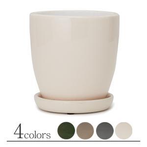 植木鉢/おしゃれ/陶器鉢/小鉢/小型/室内/アンティーク  規格:4号 / 外寸 φ12cm / 高...