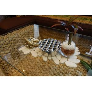ステンレス灰皿 丸型 11cm バリ産|baris
