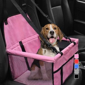 車載ドライブボックス 犬用車シート ペット用バッグ ペットキャリーバッグ 折り畳み式 ペット旅行 車汚れ防止 ドライブ ペット用品 送料無料|baris