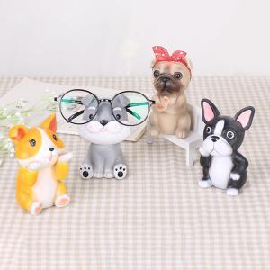 メガネスタンド 犬 めがねスタンド メガネかけ メガネ置きスタンド めがねかけ 眼鏡ホルダー 卓上 かわいい メガネおき おしゃれ 置物 送料無料|baris