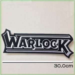 ★ この商品に関して ★  ヴィンテージ のMC PATCH !WARLOCK!厚みのある刺繍!手元...