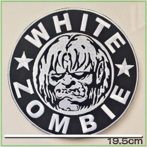 ★ この商品に関して ★  ヴィンテージ のMC PATCH !White Zombie!厚みのある...