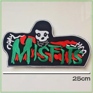 ★ この商品に関して ★  ヴィンテージ のMC PATCH !The Misfits!厚みのある刺...