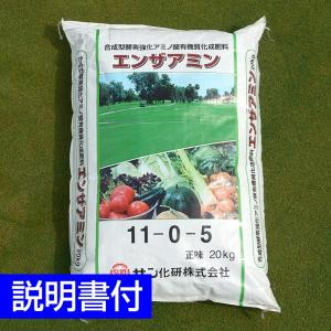 /レビュー特典/送料注意/芝生用バイオ有機質化成肥料 エンザアミン 20kg baroness