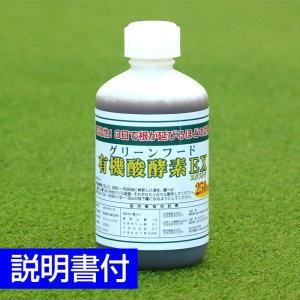 芝生用活性剤・土壌改良材 グリーンフード有機酸酵素EX 250ml|baroness