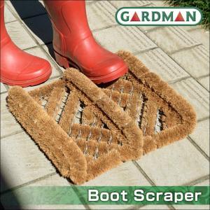 ココヤシで作られたブーツスクレーパー(泥落とし)です。 コンパクトなサイズ感とナチュラルなココヤシカ...