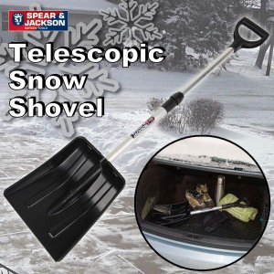 英国ブランド Spear&Jackson 伸縮式雪かきスコップ|baroness