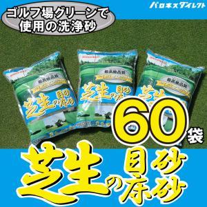 /送料無料/洗砂 バロネス 芝生の目砂・床砂 10kg入り(6.7リットルサイズ)×60袋セット|baroness